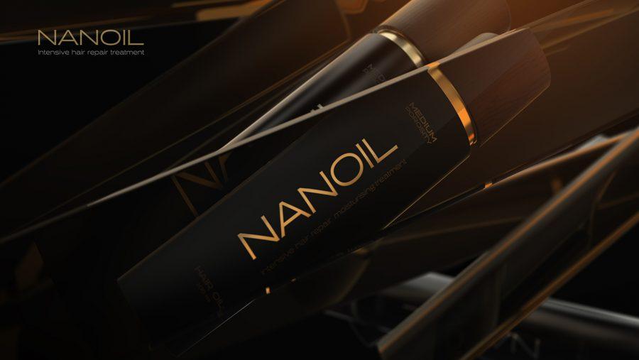 óleo para cabelo Nanoil