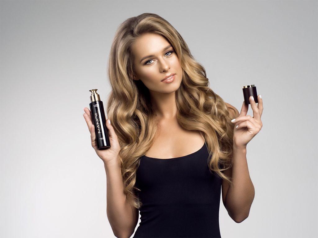 cabelo saudável graças ao Nanoil